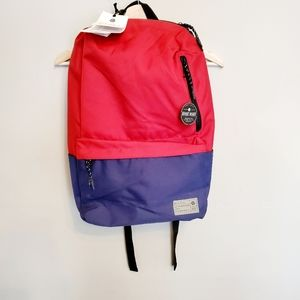 Hex ASPECT EXILE BLUE AND RED BACKPACK